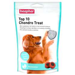 Витамины для собак Beaphar (Беафар) Top 10 Chondro Treat кормовая добавка с глюкозамином, 150 г
